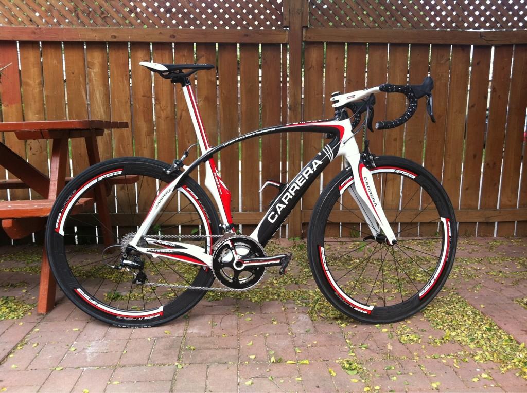 Customer Bike: Eric's Carrera Phibra 2 – Blacksmith Cycle